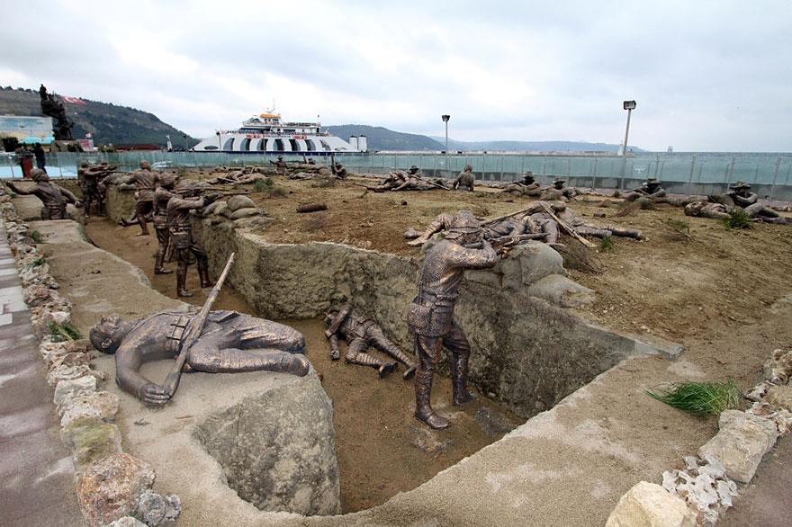 statue belle turchia grande guerra