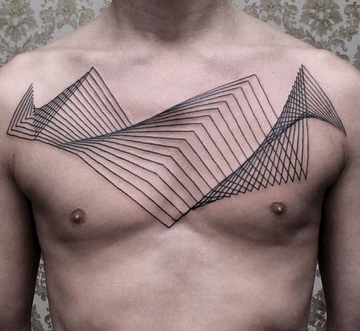 tattoo dot to lines