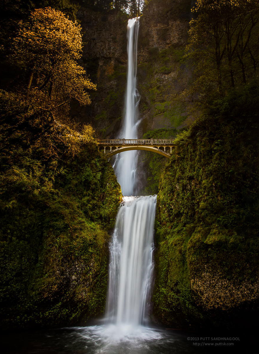 ponte Multnomah Falls