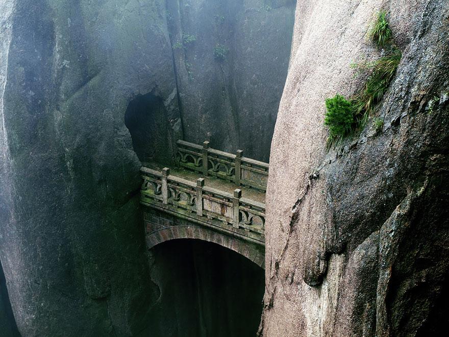 ponte Huangshan cina