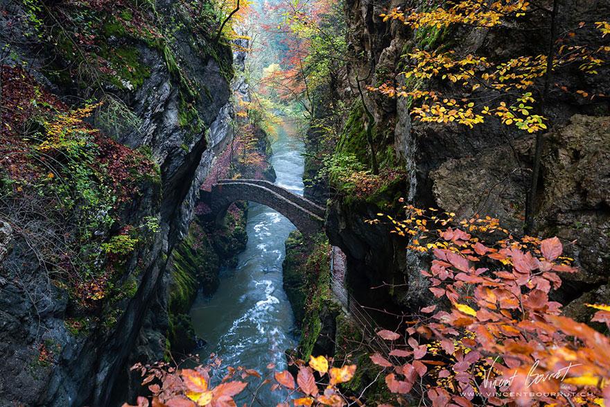 ponte Gorge De L'areuse