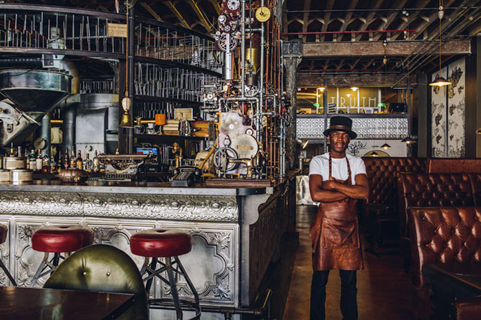 Truth Cafe, Cape Town, Sud Africa