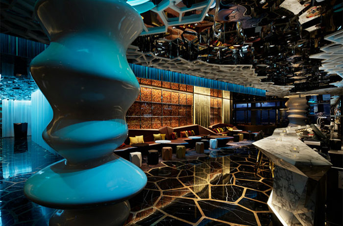 Ozone Bar, Hong Kong
