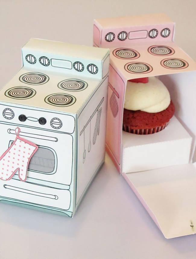 cupcake forno