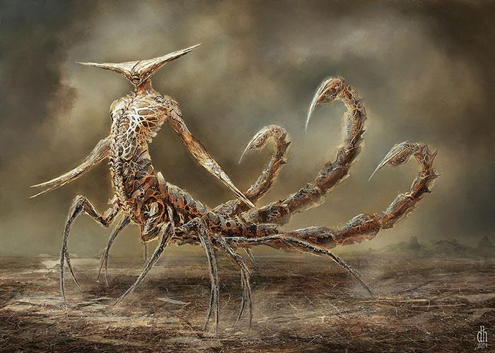 scorpione concept