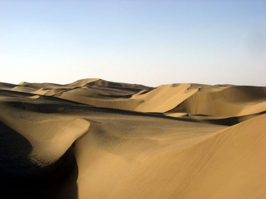 deserto taklamakan cina