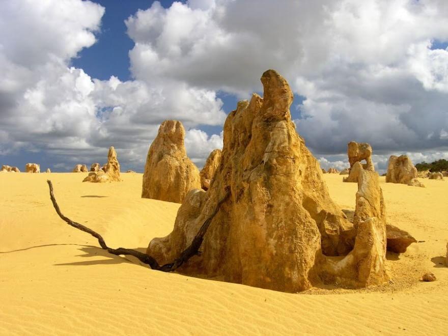 deserto the pinnacles