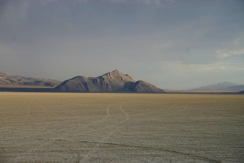 deserto black rock USA