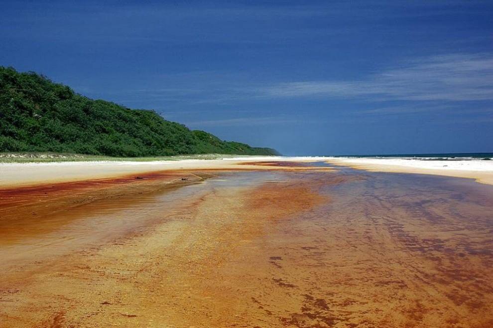 deserto fraser island australia
