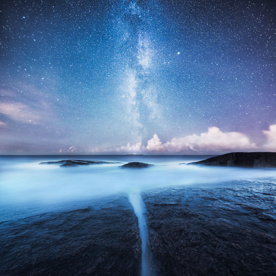foto cielo stellato