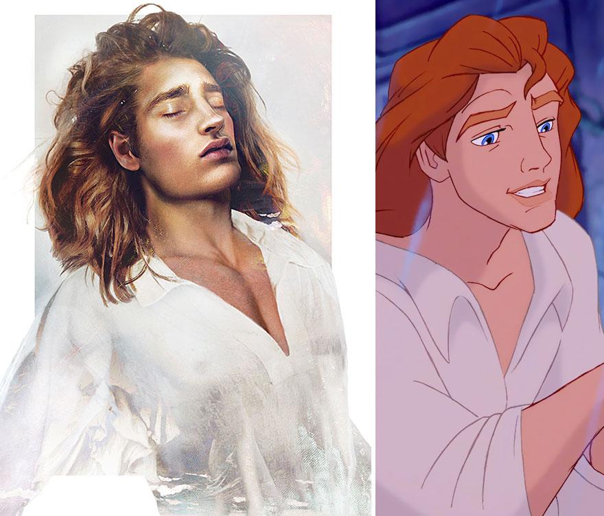 principe la bella e la bestia