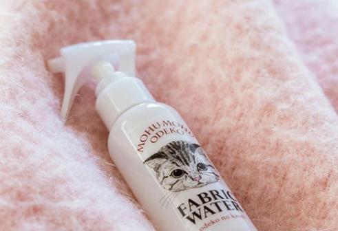 spray profumo di testa di gatto