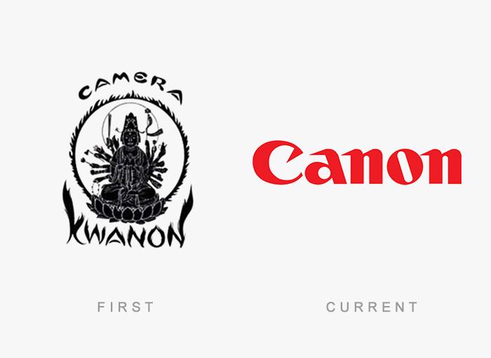 vecchio logo Canon