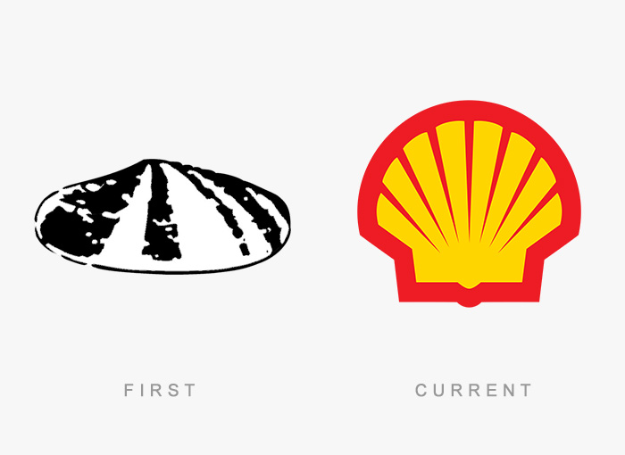vecchio logo Shell