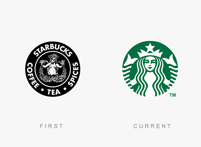 vecchio logo Starbucks