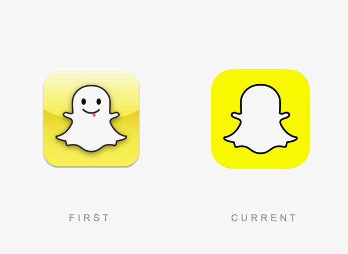 vecchio logo Snapchat