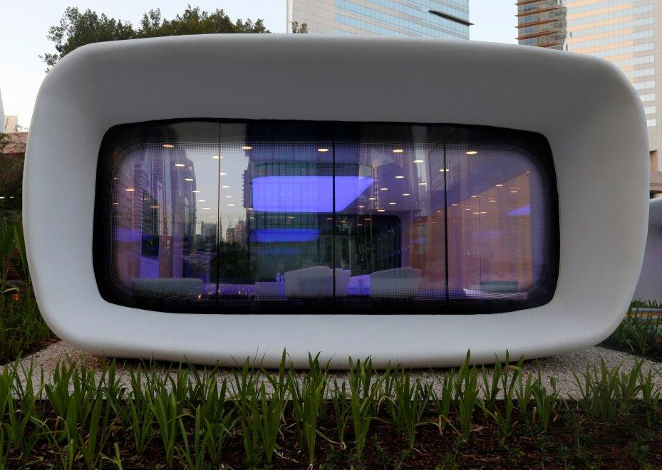 edificio stampato in 3d
