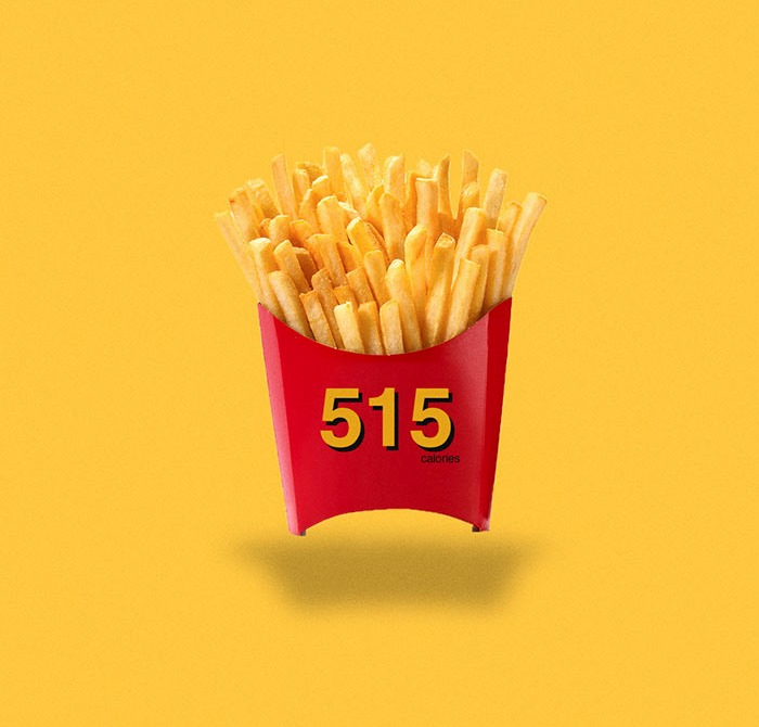 Calorie patatine McDonald
