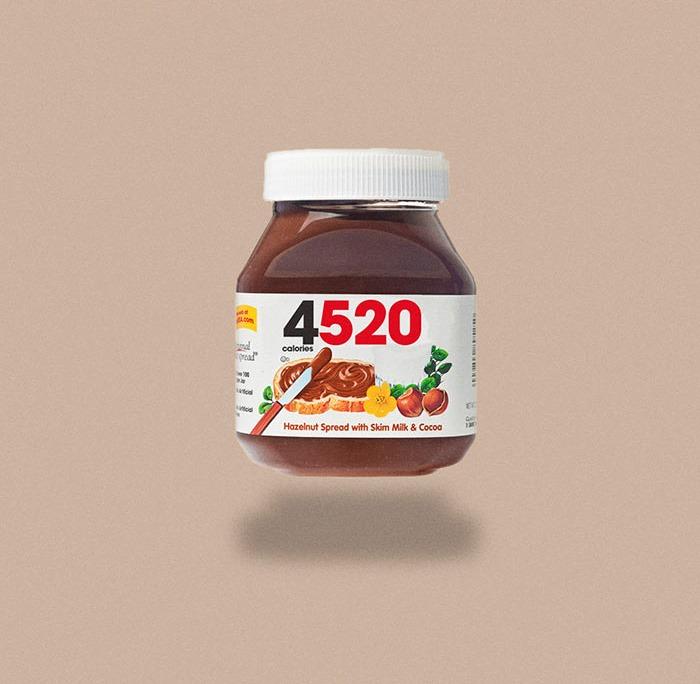 Calorie barattolo di Nutella