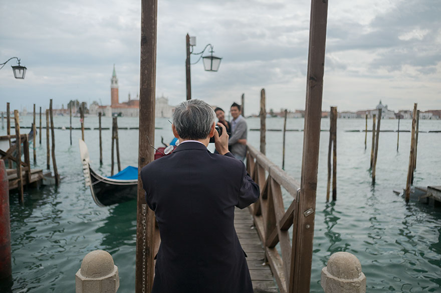 Vista da piazza San Marco, Venezia