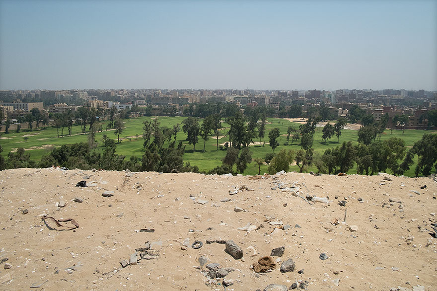 Quello che si vede dalla Piramide di Khufu, Giza