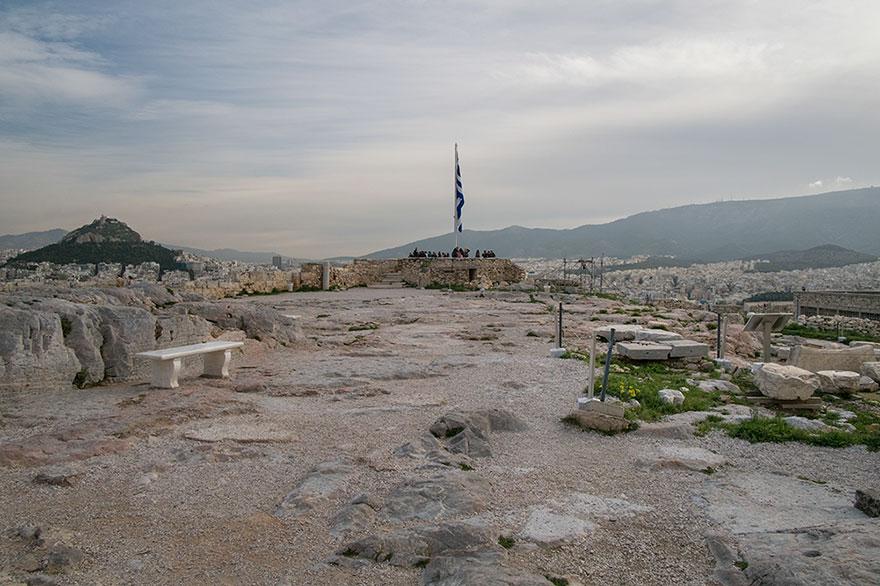 Rovine davanti al Partenone