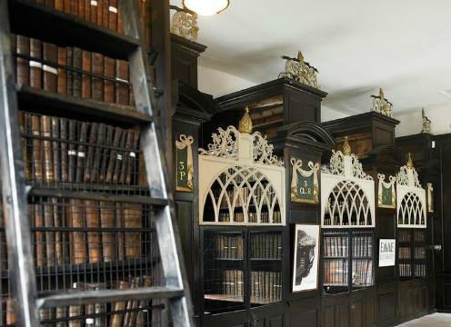 biblioteca dublino gabbie