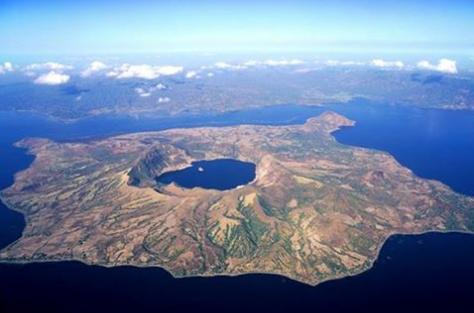 Lago Taal, Filippine