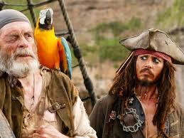 Jack Sparrow e pappagallo