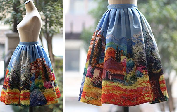 vestiti opere d'arte