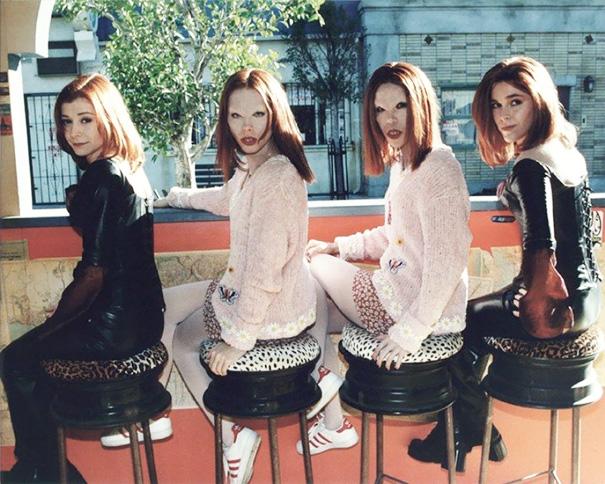 Alyson Hannigan e controfigure per Buffy l'Ammazzavampiri