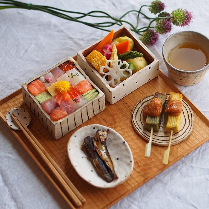sushi mosaico