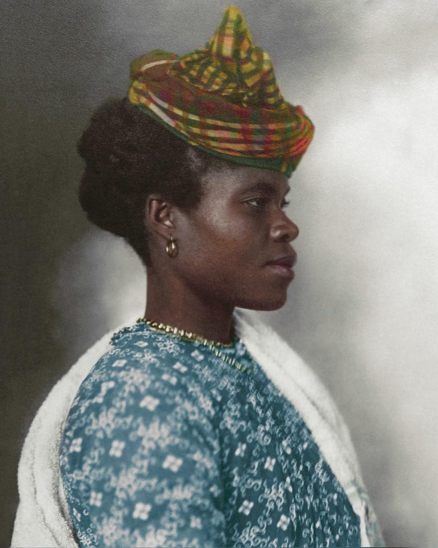 Vestiti di una donna del Guadalupe, 1911