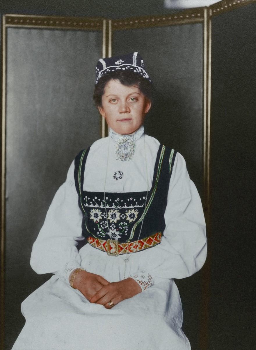 Abiti femminili norvegesi nel 1900