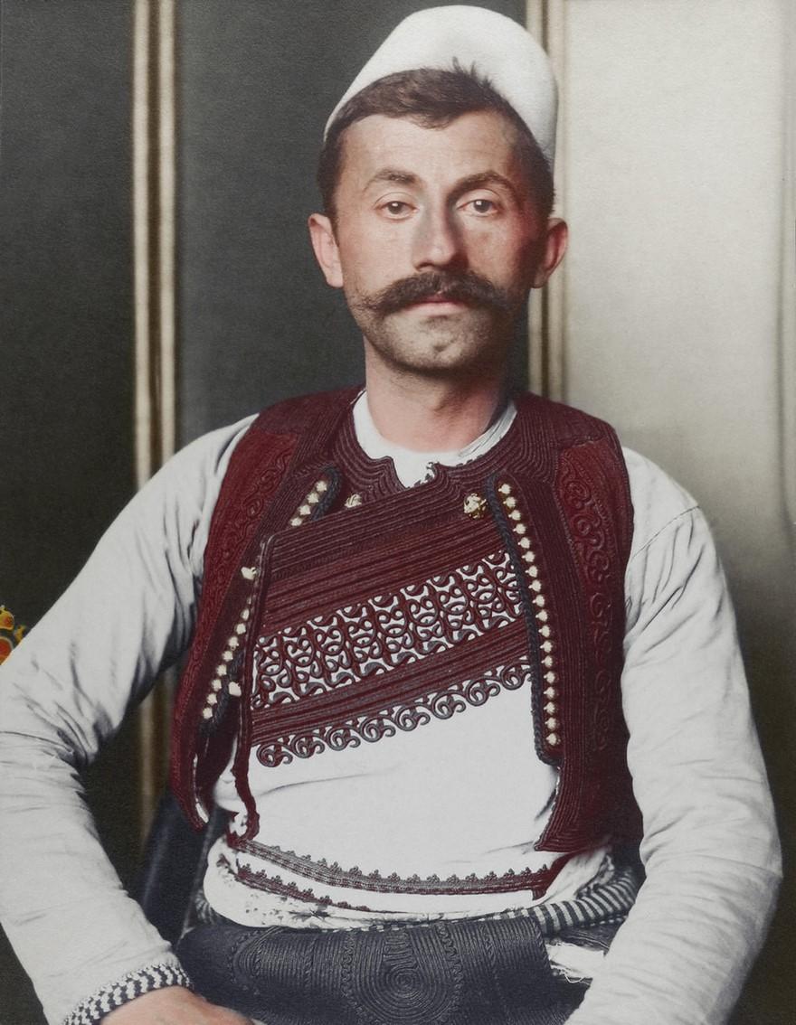 Soldato albanese nel 1900