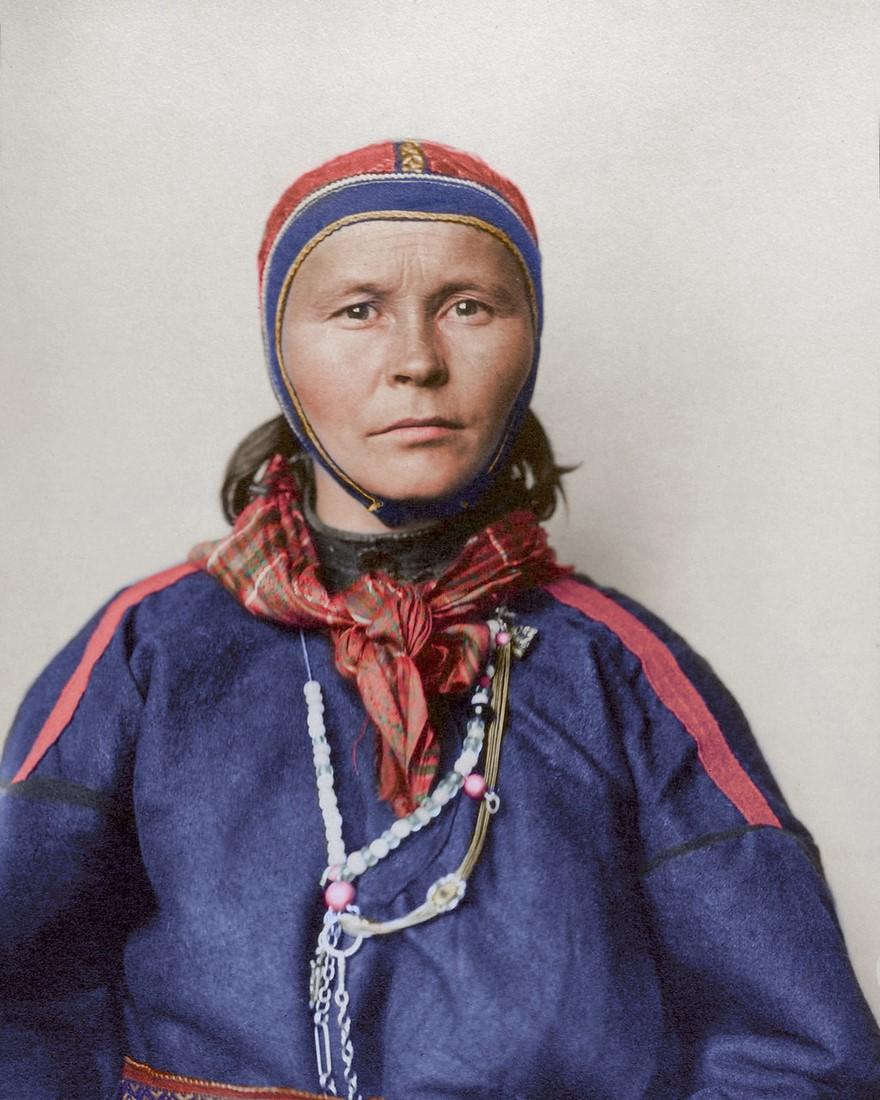 Vestiti di una donna lappone (1910)