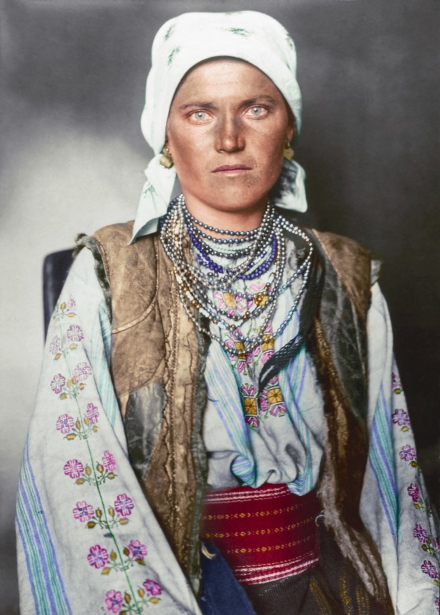 Vestiti di una donna rutena (1910)