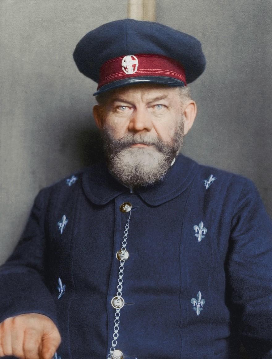 Vestiti di un uomo danese nel 1909