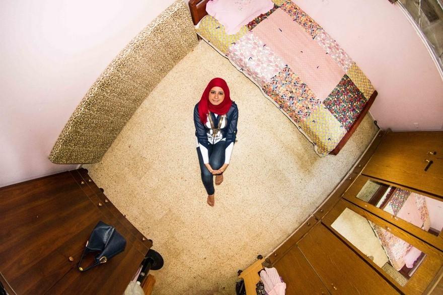 Stanza di una ragazza del Libano