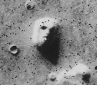 pareidolia Faccia vista su Marte