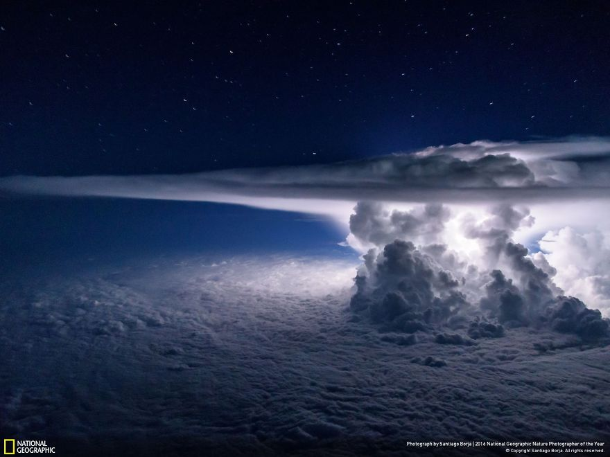 Tempesta sul Pacifico