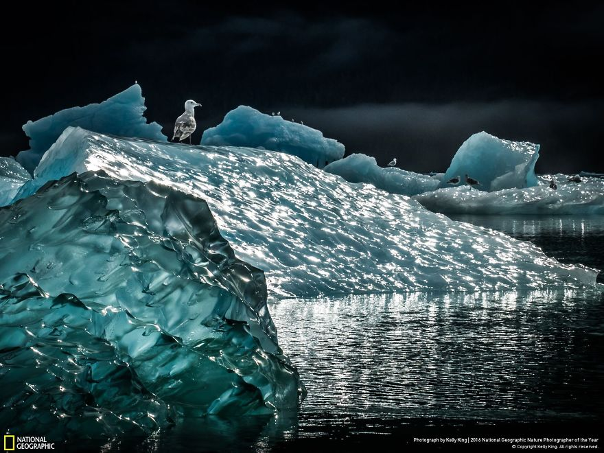 Paesaggio di ghiaccio