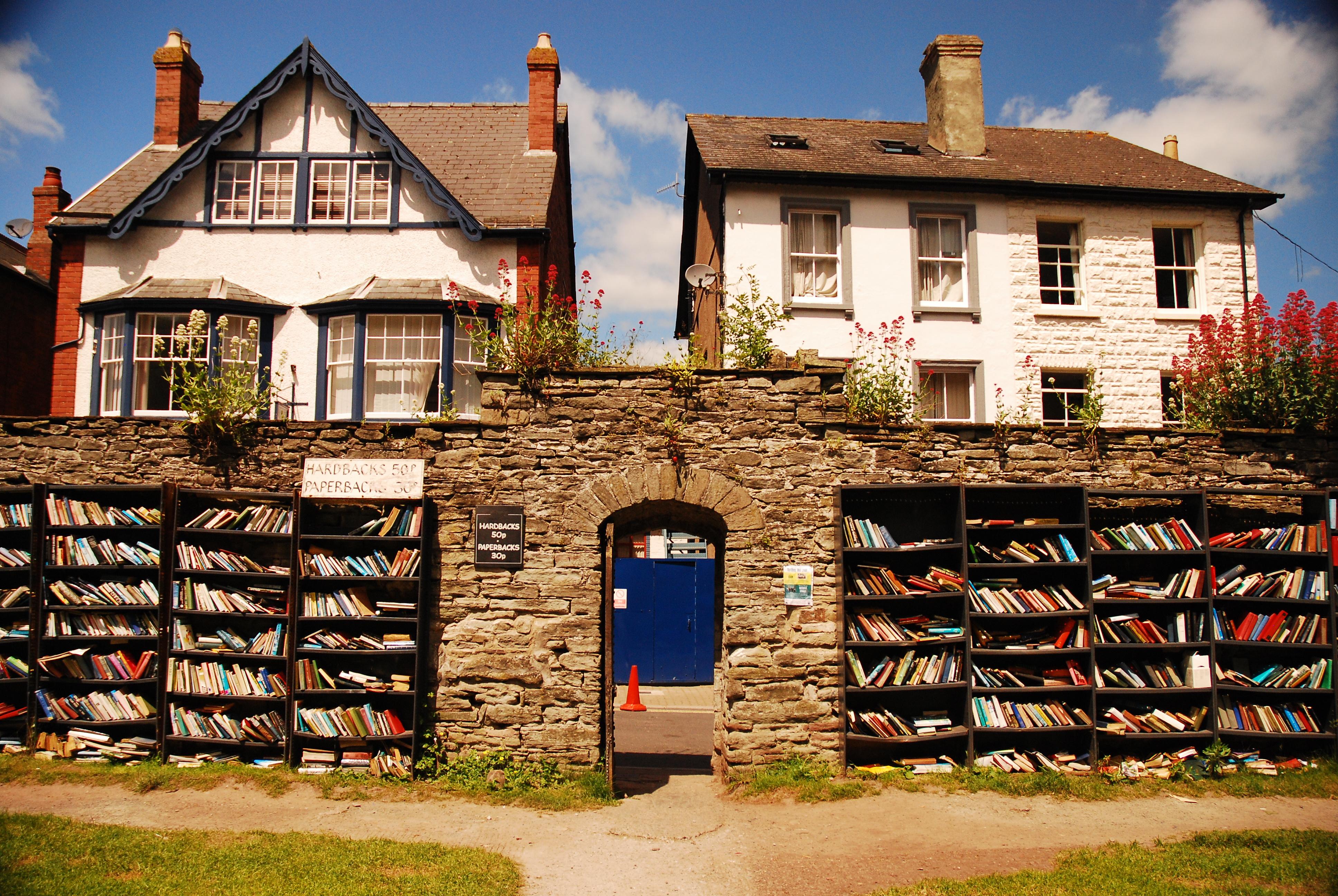 Hay-on-Wye, la città dei libri