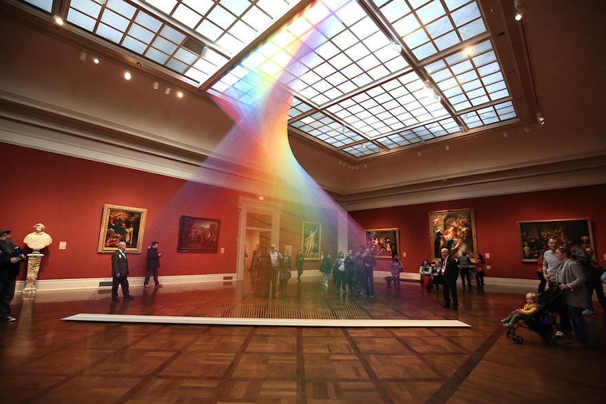 arcobaleno artificiale
