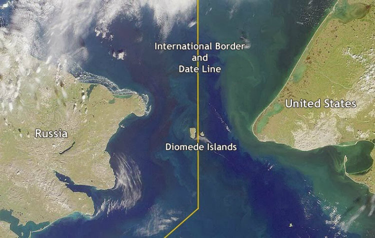isole diomede