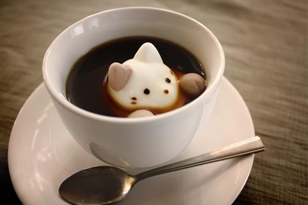 Marshmallow a forma di gatto