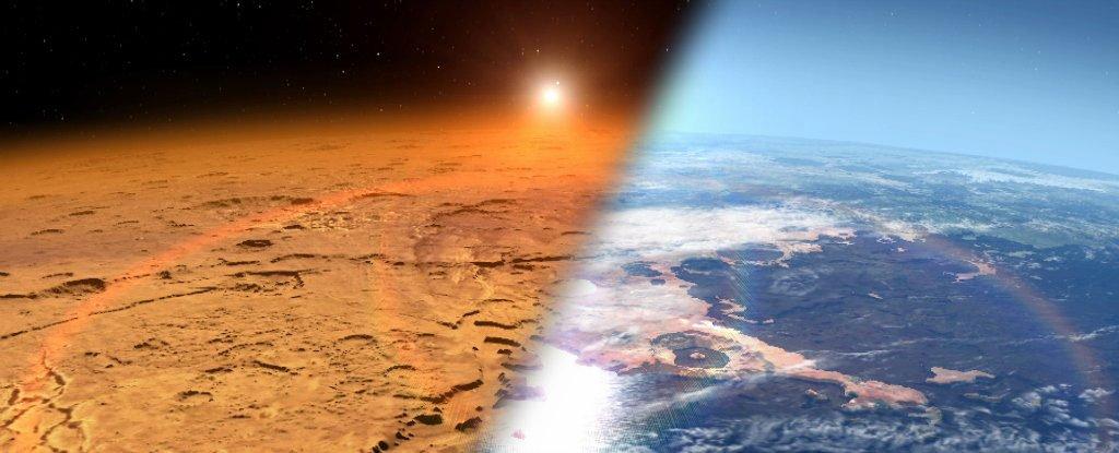 nuova atmosfera per Marte e la possibilità di renderlo abitabile