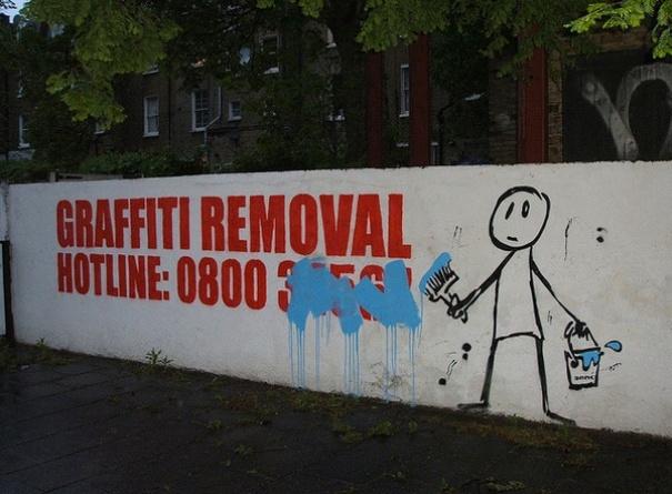 vandalismo creativo