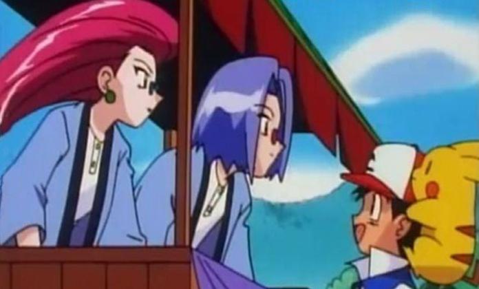 Ash non riconosce il Team Rocket travestito