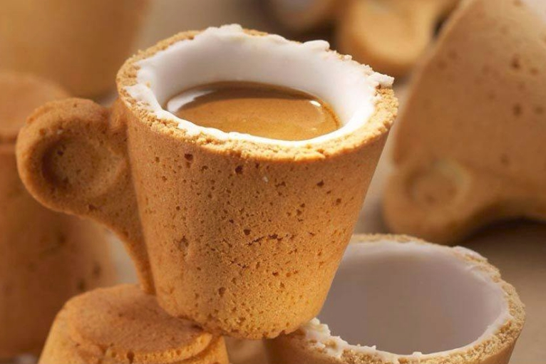 lavazza cookie cup, tazzina di biscotto
